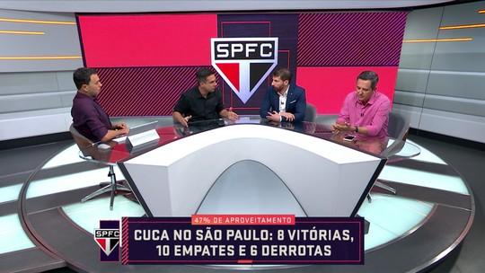 """Villani fala em década de """"frustração"""" no São Paulo e diz: """"El Morumbi te mata acabou"""""""