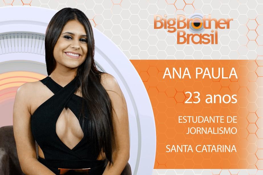 Ana Paula está no BBB18! Conheça a participante