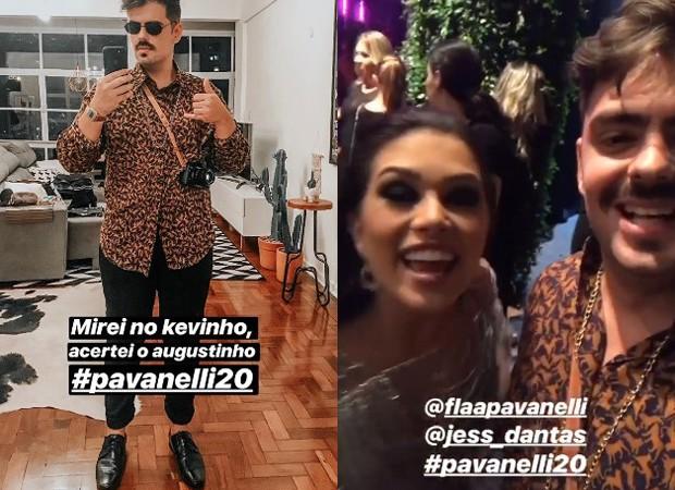 Flavia Pavanelli e Lucas Peres Pinhel (Foto: Reprodução/Instagram)