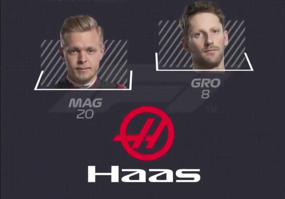 Haas — Foto: Reprodução