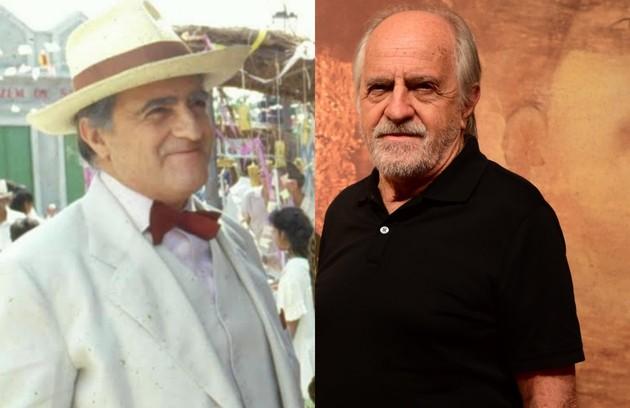 Artur da Tapitanga, prefeito da cidade, era o personagem de Ary Fontoura. O trabalho mais recente do ator na TV foi em 'Dois irmãos' (Foto: TV Globo)