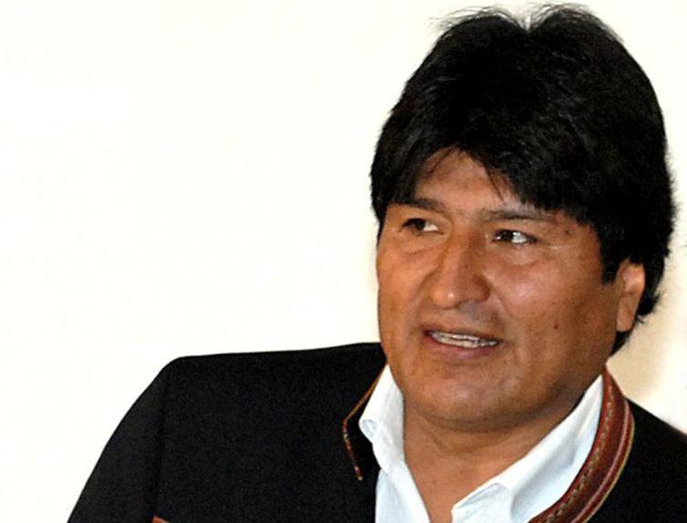 O presidente da Bolívia, Evo Morales (Foto: Roosewelt Pinheiro/Agência Brasil)