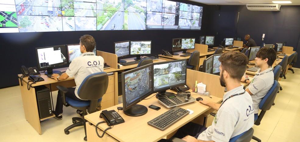 Prefeitura de Jacareí prevê que o COI tenha 116 câmeras de vigilância — Foto: Ítalo Cardoso/Divulgação