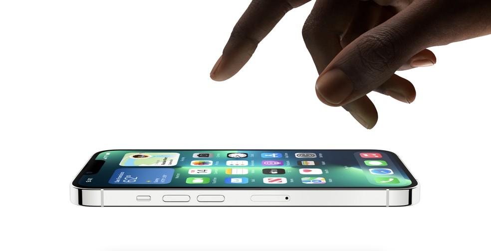 iPhone 13 Pro é um dos lançamentos de 2021 da Apple  — Foto: Divulgação/Apple