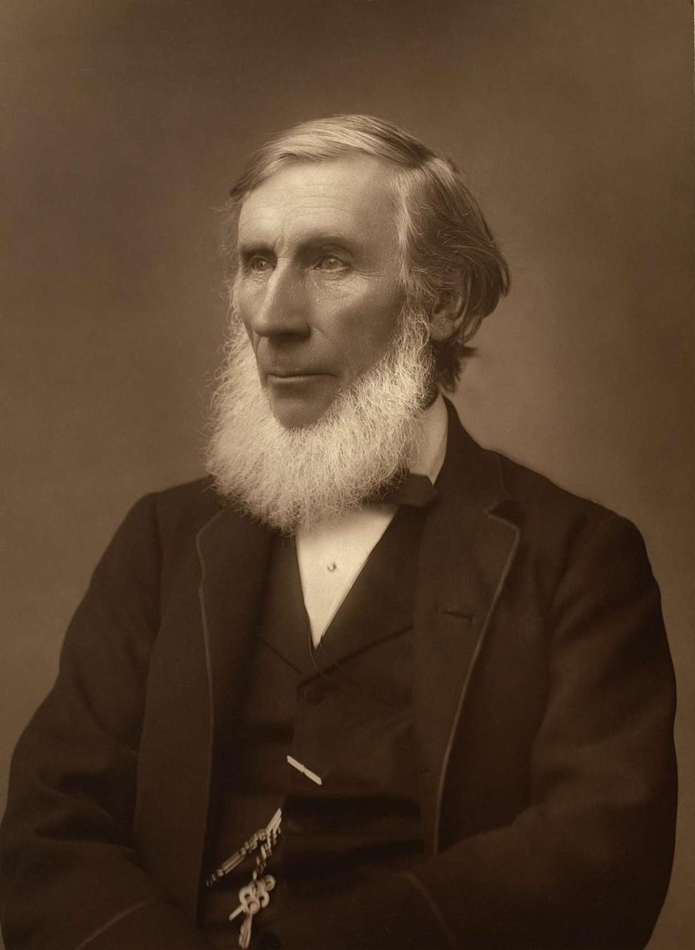 O trabalho de John Tyndall abarcava um leque amplo de temas — Foto: Herbert Rose Barraud