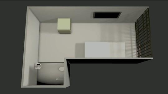 Sala em que Temer está tem 20 m² e banheiro privativo; veja simulação