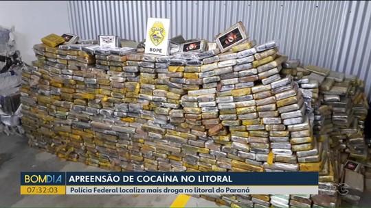 Polícia Federal apreende mais cocaína no litoral do estado