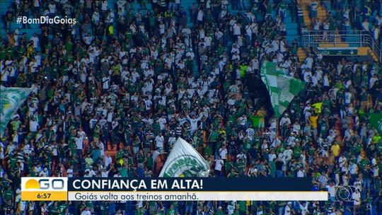 Giovanni Augusto cita exemplos e pede cuidado ao Goiás na volta do Brasileirão