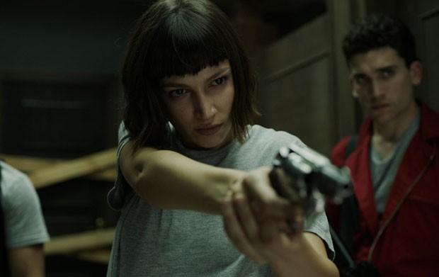 Cena da nova temporada de La Casa de Papel (Foto: Divulgação/Netflix)