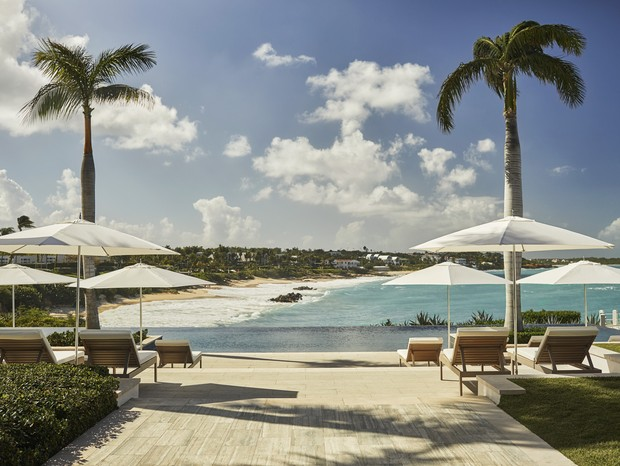 Hospedagem da Four Seasons em Anguilla (Foto: reprodução)