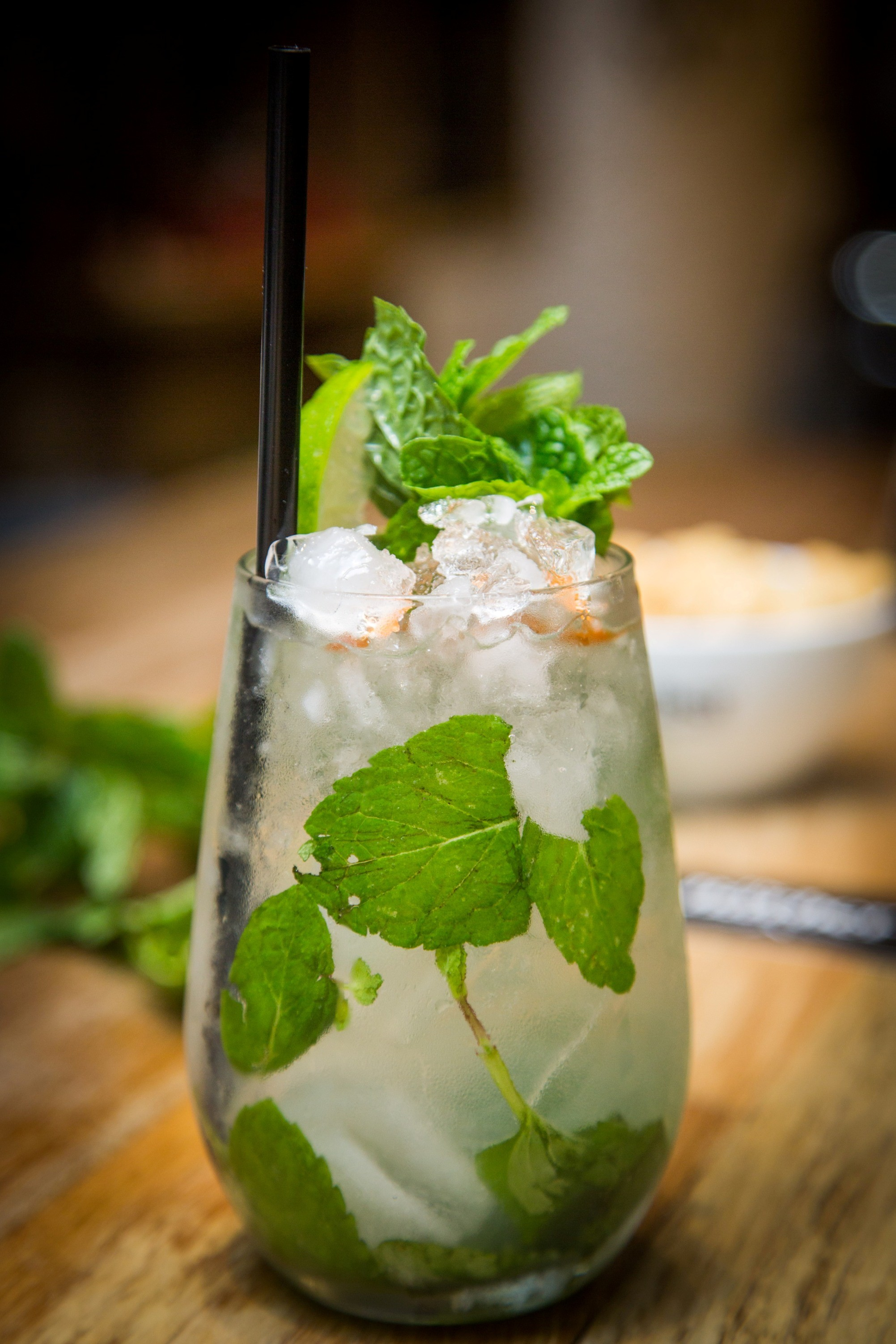 O mojito da The Barber (Foto: Barbara Lopes)