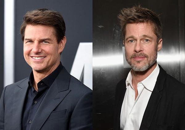 Tom Cruise e Brad Pitt (Foto: Getty Images)