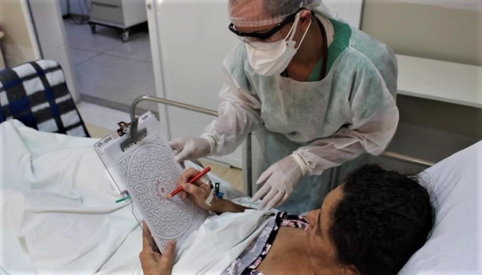 Santa Casa de São Carlos registra letalidade menor do que demais hospitais brasileiros — Foto: Divulgação/Assessoria Santa Casa