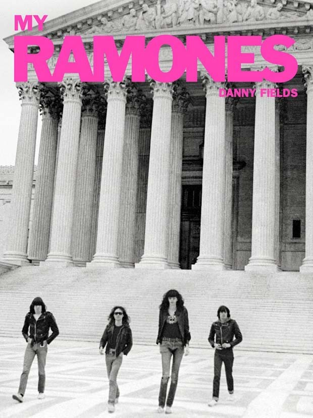 Foto do livro 'My Ramones' (Foto: Dany Fields)