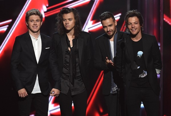 Niall, Harry, Liam e Louis (Foto: Getty Images)