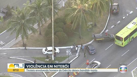 Militar do Exército reage a tentativa de assalto e mata suspeito no RJ