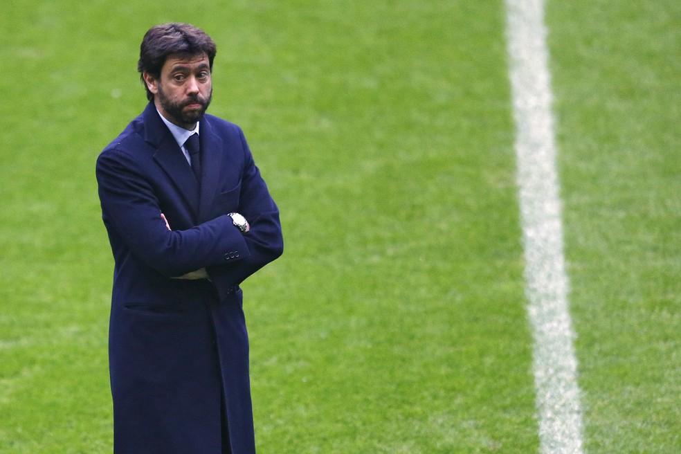 Andrea Agnelli, presidente da Juventus (Foto: AP )