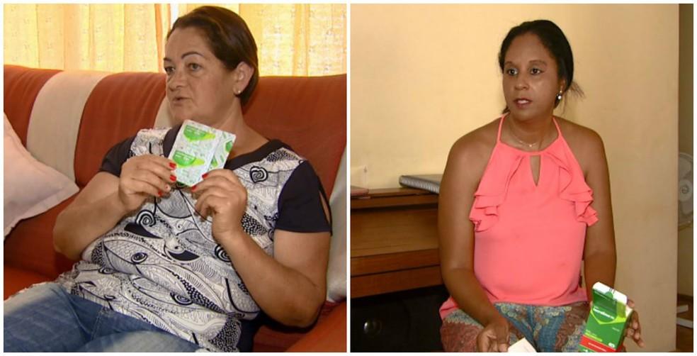 Pacientes e parentes cobram solução para falta de remédios para transplantados em Porto Ferreira (Foto: Reprodução/ EPTV)