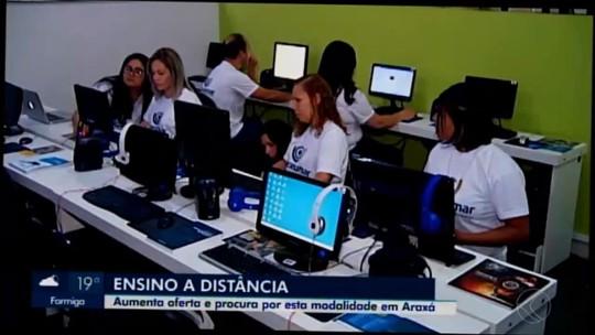 Matrículas para educação a distância aumentam em Minas Gerais