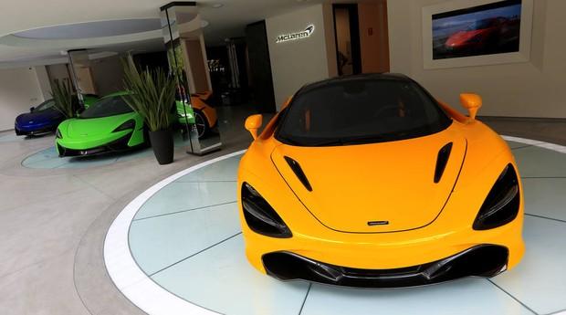 No Brasil, o preço inicial dos modelos da McLaren começam em R$ 1,9 milhão e podem chegar a R$ 8 milhões  (Foto: Reprodução/Estadão)