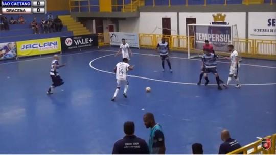 Com gol de estreante, Dracena vence São Caetano e começa bem a Copa Paulista de Futsal
