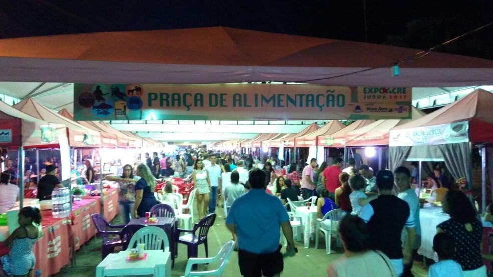 13ª edição da Expojuruá movimentou R$ 6 milhões (Foto: Anny Barbosa/G1)