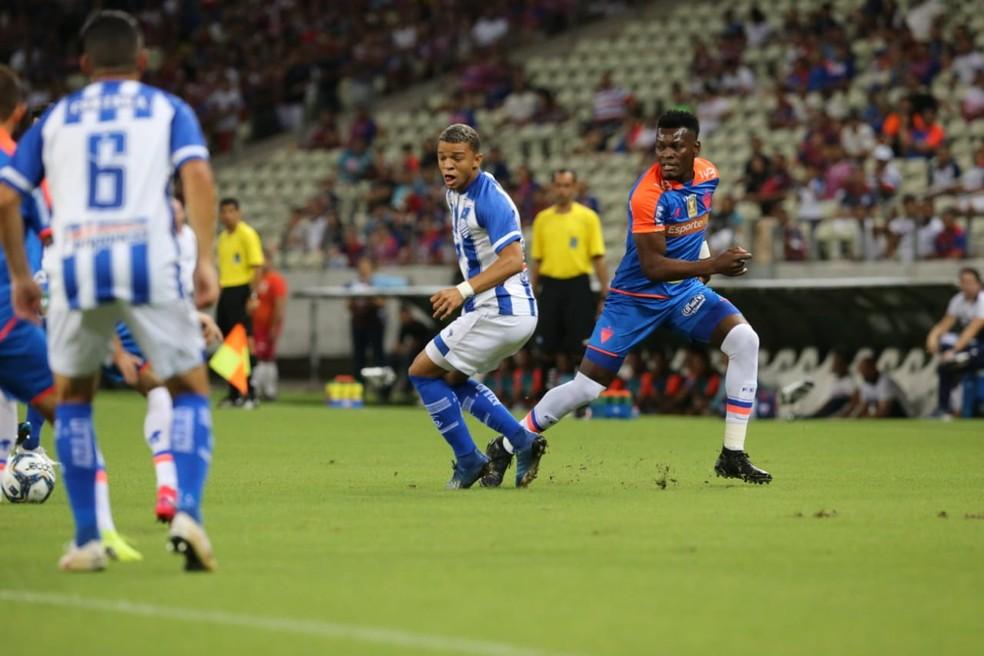 Atual campeão, Fortaleza também já está garantido no mata-mata da Copa do Nordeste — Foto: Helene Santos/SVM