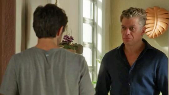 Jonatas recebe visita de Arthur: 'A Eliza não está te esperando?'