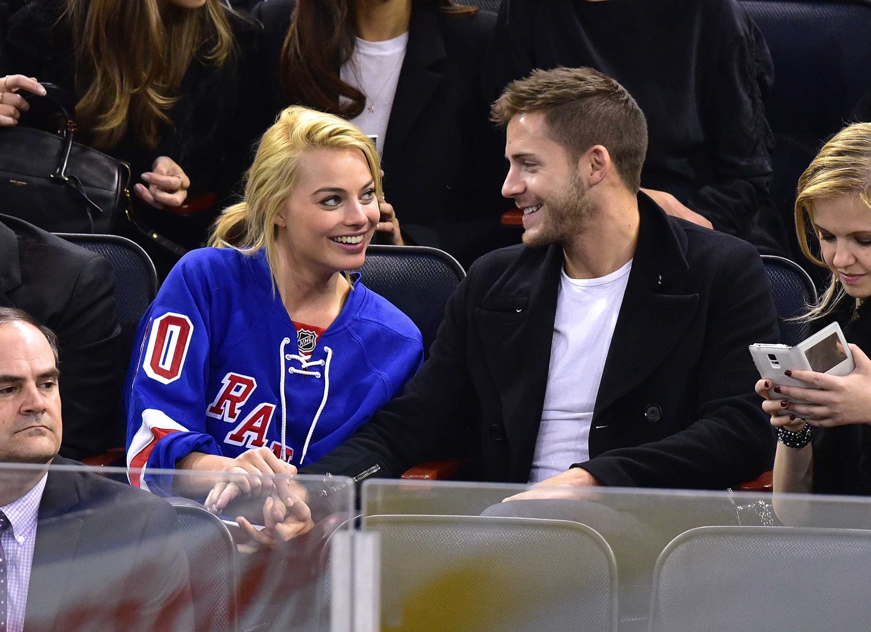 Margot Robbie y su esposo Thomas Ackerley (Foto: Getty Images)