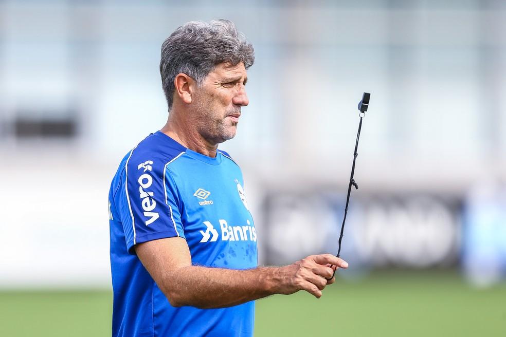 Renato Portaluppi — Foto: Lucas Uebel/Grêmio
