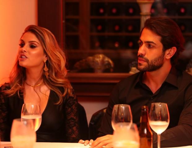 Bárbara Evans e Gustavo Theodoro (Foto: Eduardo Alexandre/Divulgação)