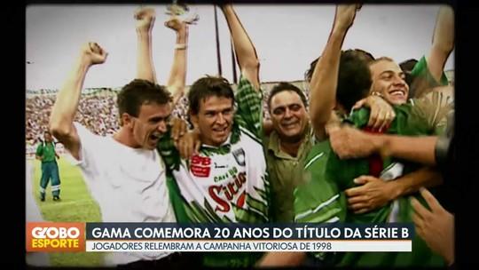 De quase rebaixado ao título: relembre a campanha do Gama 20 anos após a conquista da Série B