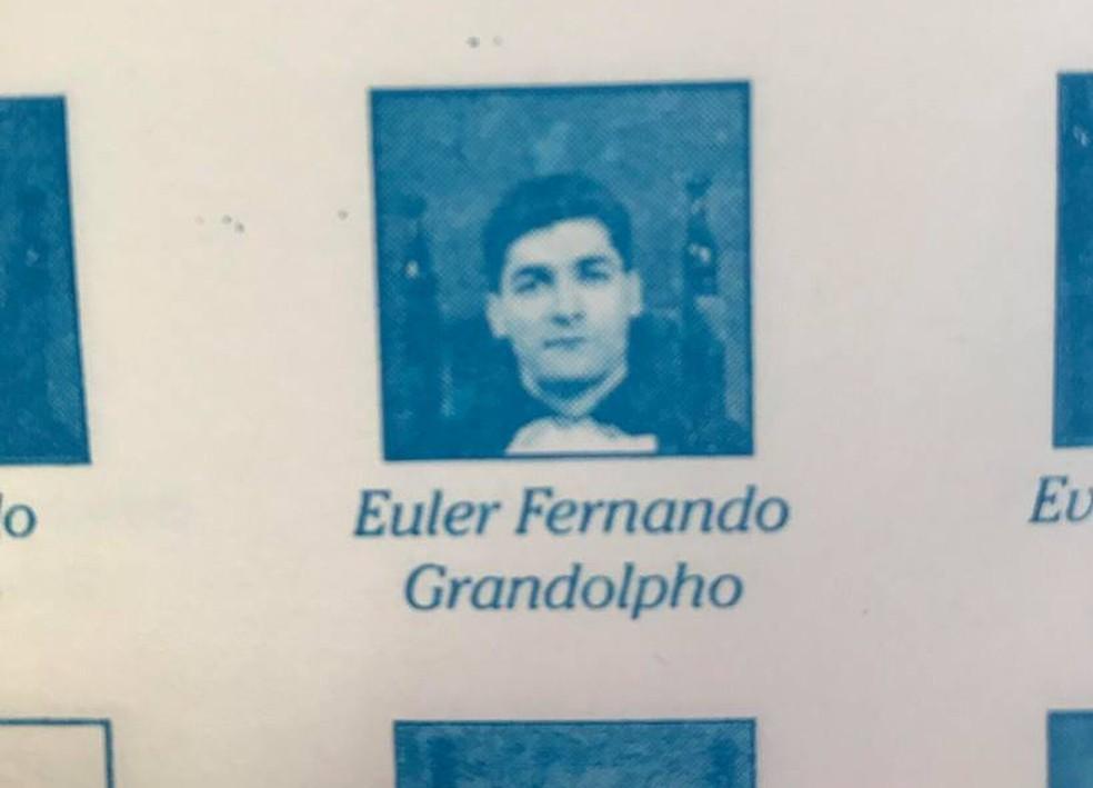 Euler Fernando Grandolpho, de 49 anos, fez parte da primeira turma de Publicidade e Propaganda da Unip, de Campinas, em 1998 — Foto: Reprodução