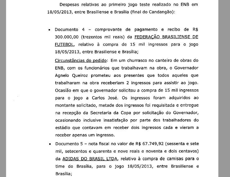Trecho de complementação da delação premiada de Carlos José de Souza, da Andrade Gutierrez (Foto: Reprodução)