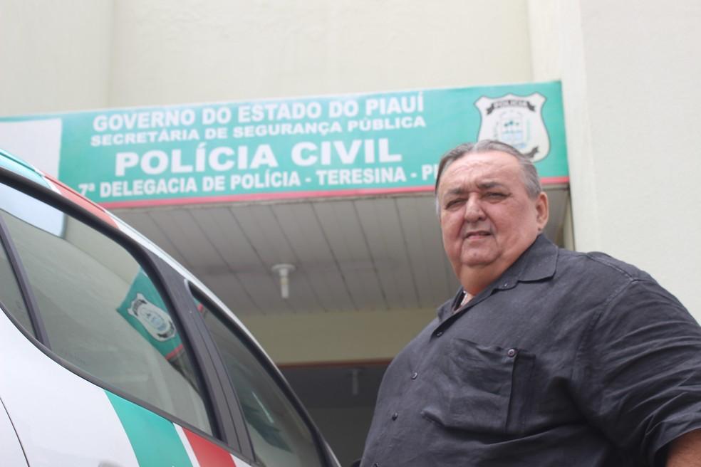Delegado Carlos Jorge, do 7º Distrito Policial (Foto: Fernando Brito/G1)