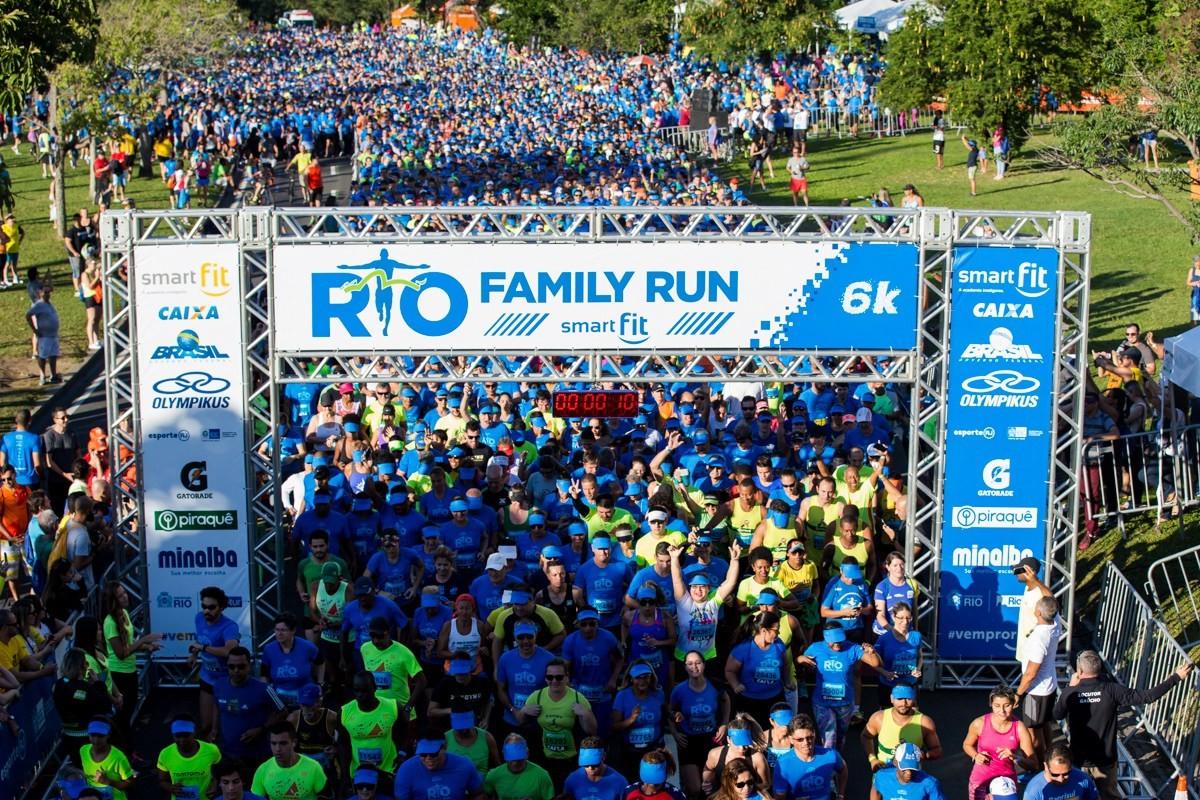 Maratona do Rio, em 2017: corrida de rua mais importante da cidade