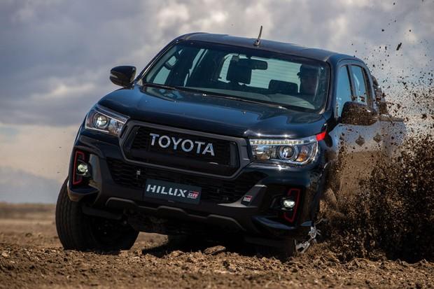 Toyota Hilux GR-S V6 (Foto:  Divulgação)