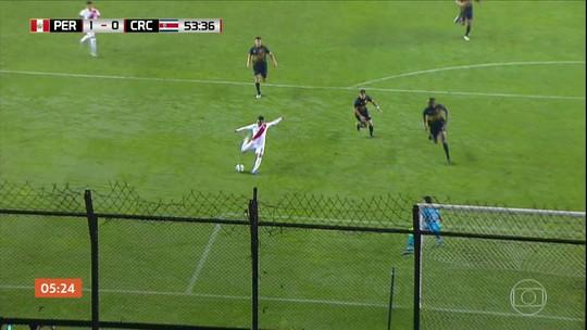 Peru vence a Costa Rica em amistoso