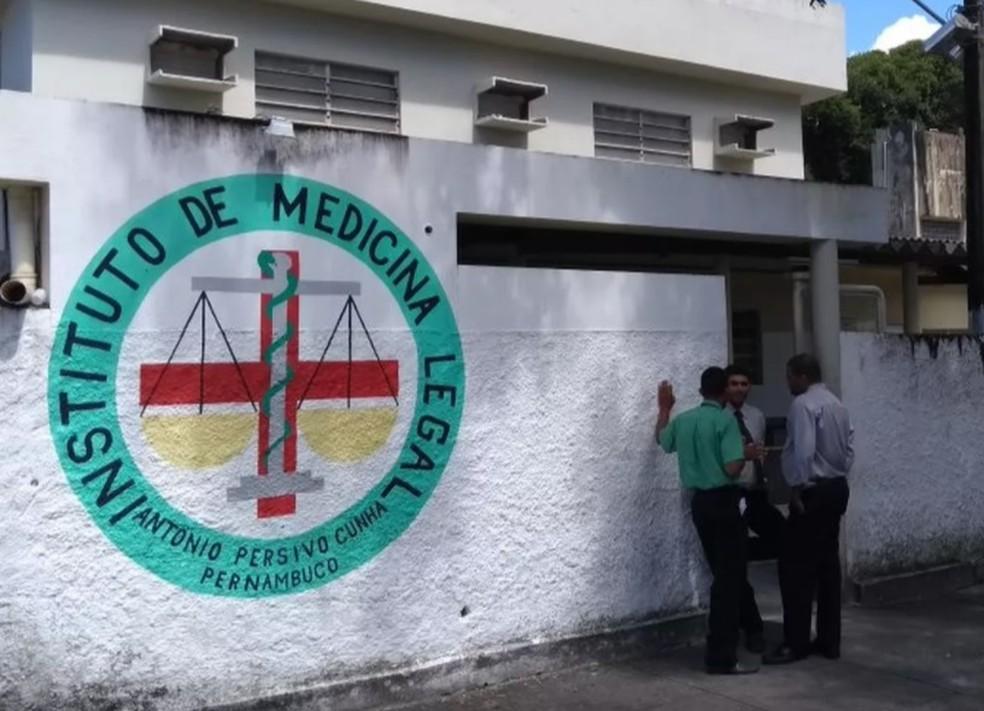 Instituto de Medicina Legal (IML) fica em Santo Amaro, na área central do Recife — Foto: Reprodução/TV Globo