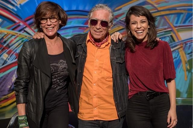 Christiane Torloni, Neville D'Almeida e Andréia Horta (Foto: Ana Paula Amorim)