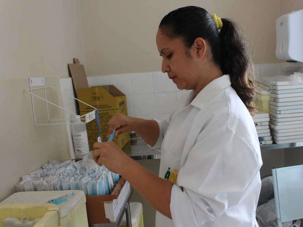 Salas de vacina estarão abertas  neste sábado em Petrolina ? Foto: Larissa Paim/G1