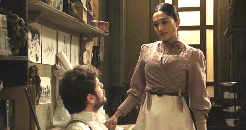 É melhor seguir as orientações médicas, hein, Camilo! (Foto: TV Globo)