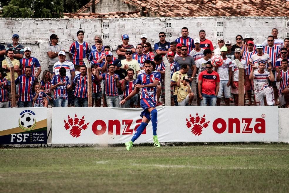 Itabaiana empata sem gols fora de casa contra o Dorense — Foto: Wendell Rezende/AOI