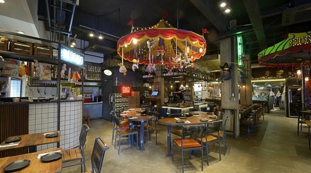 A Casa do Porco, restaurante comandado pelos Rueda no Centro de São Paulo (Foto: Divulgação)