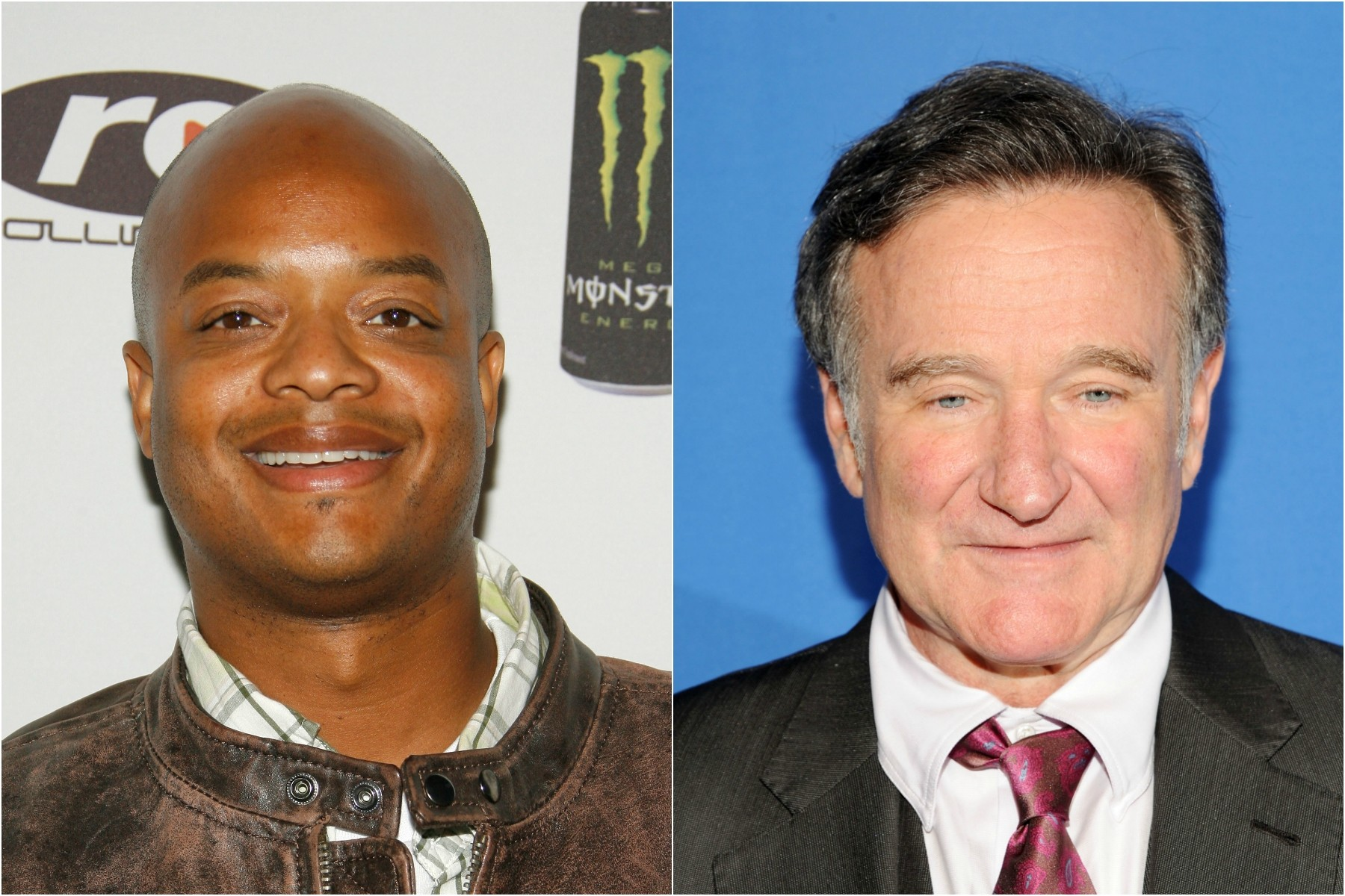 Todd Bridges e Robin Williams. (Foto: Getty Images)