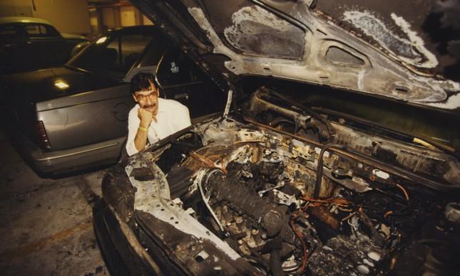 O Tipo do advogado Roberto Coimbra pegou fogo 20 minutos depois de sair da concessionária que fez os reparos do primeiro recall convocado pela Fiat