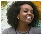 Apesar de estar sendo aguardada por sua equipe médica, Thelma, segundo o marido Denis Santos, também quer usar a fama para dar visibilidade a mulheres negras artistas | Reprodução