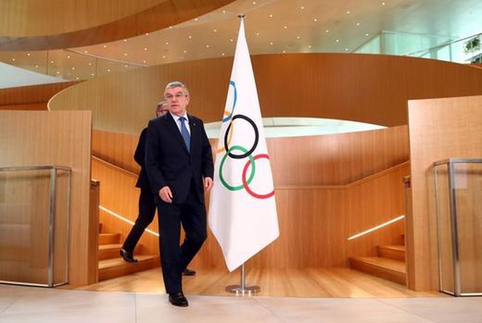 Thomas Bach, presidente do Comitê Olímpico Internacionais — Foto: Reuters