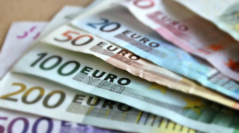 euro, dinheiro (Foto: Reprodução/Pexels)