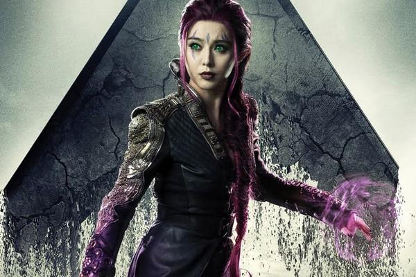 A atriz chinesa Fan Bingbing como a mutante Blink de X-Men: Dias de Um Futuro Esquecido (2014) (Foto: Reprodução)